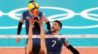 Selección Argentina vs. Italia en vóley, por los Juegos Olímpicos