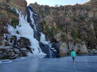 El Salto del Tigre congelado: uno de los principales atractivos del invierno