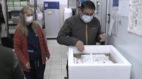 Llegaron más de 8 mil segundas dosis de AstraZeneca