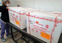 La provincia recibió este jueves 6.750 dosis del segundo componente de la vacuna Sputnik V