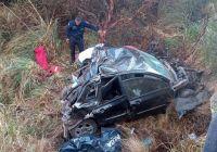 Se desbarrancó un auto en las Altas Cumbres: murieron dos adolescentes
