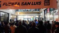 Villa de Merlo: Fuerza San Luis inauguró local y cerró la campaña