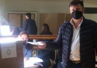 """Riccardo: """"Voy a defender, a cuidar y a acompañar a todos los candidatos en la provincia"""""""