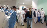 Alumnos de la carrera de enfermería realizaron sus prácticas en el Madre Catalina