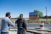 Avanza la construcción de rotondas en Ruta 1