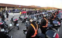 El Gobierno provincial entregó vehículos nuevos a la policía, bomberos y San Luis Solidario