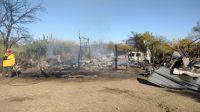 Una persona fallecida en el incendio de una vivienda en altos de Piedra Blanca