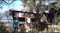 Villa de Merlo: Se incendió la casa de té Merlin