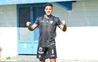 El merlino Brahian Cuello anotó en la derrota de Almagro ante Villa Dalmine