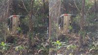 Villa de Merlo: Una camioneta cayó unos 45 metros desde el Mirador del Águila