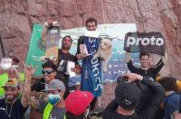 Nicolás Waiman: primer puesto en la primera fecha del campeonato nacional de longboard