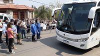 Llegaron 39 estudiantes merlinos, que estaban en Córdoba desde marzo