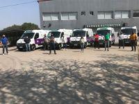 Cinco nuevas ambulancias para hospitales del interior provincial