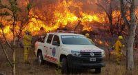 Siguen activos los tres grandes incendios en Córdoba y se espera otra jornada con clima adverso