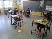 El gobernador dio inicio al retorno de las clases presenciales en la provincia