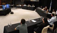 El gobernador mantuvo una videoconferencia con legisladores nacionales por San Luis
