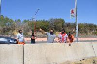 Potrero de Los Funes: retiran las defensas de hormigón en el circuito