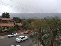 Llovió en Villa de Merlo después de cinco meses de sequia