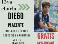 Capacitaciones virtuales de fútbol con especialistas: Este jueves la charla será con Diego Placente