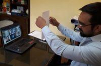 El intendente de Villa de Merlo, Juan Alvarez Pinto, dio positivo para coronavirus