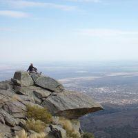 Trekking y rappel en la Piedra del Águila