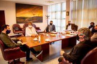 Reactivación turística: Macagno se reunió con senadores provinciales