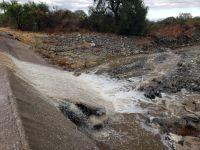 Después de 6 meses Villa de Merlo tuvo una lluvia importante