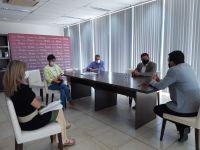 El diputado Ricardo Chaves se reunió con el Ministro de Seguridad de la provincia