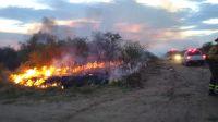 Dos nuevos incendios intencionales: ahora en Piedra Blanca Abajo