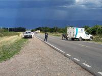 Villa Dolores: motociclista perdió la vida tras chocar con un camión