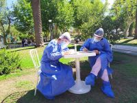 Este martes se registraron 127 casos positivos de Coronavirus en la provincia