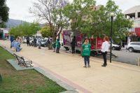 Siguen los testeos voluntarios y gratuitos en Plaza Sobremonte
