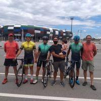 Ciclistas merlinos en la Vuelta del Porvenir