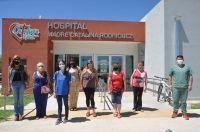 El personal de salud municipal se vacunó contra el COVID-19