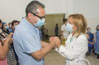 San Luis tiene sus primeros vacunados contra el COVID-19