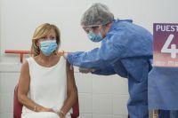 La semana que viene llegarán más vacunas