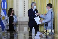 Jorge Fernández juró como nuevo ministro del Superior Tribunal de Justicia
