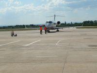 Desmintieron el regreso de los vuelos regulares al Aeropuerto del Valle del Conlara