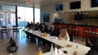 El ministro de Educación de la Nación inició su jornada de trabajo en San Luis