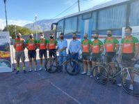 """Ciclismo: Se corre el Primer Gran Premio """"Merlo, ciudad del deporte"""""""