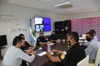 Seguridad: Luciano Anastasi y Juan Álvarez Pinto acordaron trabajar en conjunto