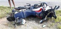 Un hombre se encuentra grave tras protagonizar un accidente en el camino de las Altas Cumbres