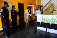 El ministro de Seguridad le pidió al intendente de Villa de Merlo que ayude en la prevención de los delitos