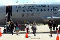 Llegó el primer vuelo comercial de pasajeros al Aeropuerto Valle del Conlara