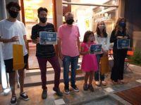 """Los """"campeones literarios"""" del Coronaletras recibieron sus premios"""