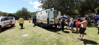 Los Molles: Bomberos rescataron a un menor de edad accidentado en el arroyo