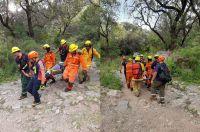 Rescataron a una mujer en el arroyo de Villa Elena