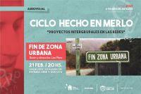 """El Ciclo Hecho en Merlo presenta el cortometraje """"Fin zona urbana"""""""