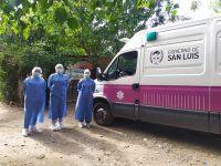Villa de Merlo: vacunación contra el Covid-19 en hogares y residencias para adultos mayores