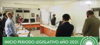 Quedó inaugurado el periodo legislativo 2021
